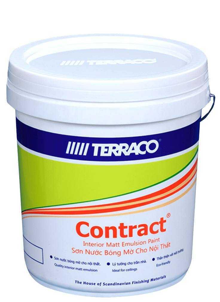 Hướng Dẫn Thi Công Sơn Nước Nội Thất Terraco Contract Emulsion
