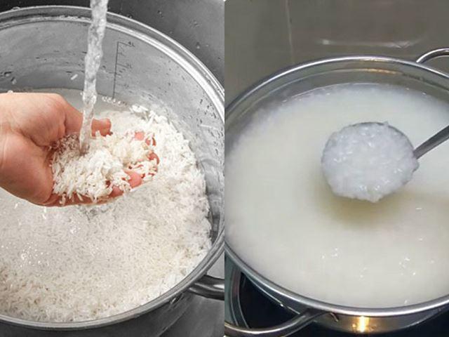 Công thức nấu cháo trứng gà khoai lang cho bé ăn dặm dưới 1 tuổi hết táo bón - 3