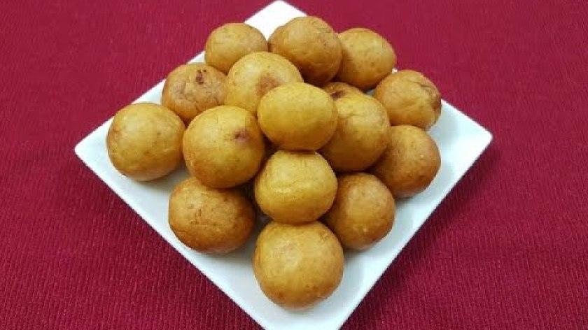 hướng dẫn làm khoai lang chiên - Cách làm Bánh khoai lang viên chiên -Chanh chua