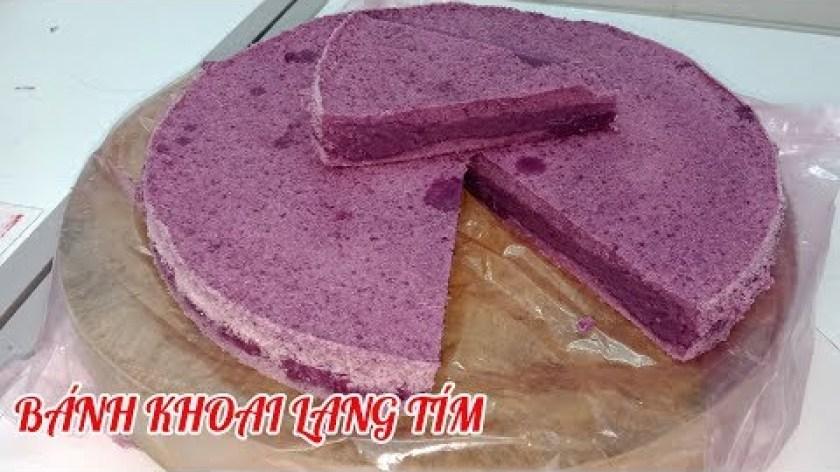 hướng dẫn làm bánh khoai lang - Cách làm bánh khoai lang tím hấp dẻo ngon đơn giản