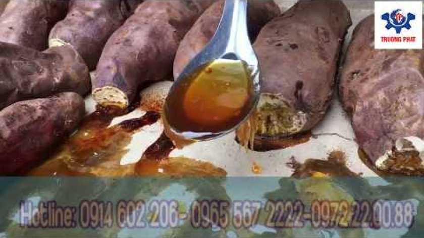cách nấu khoai lang mật - Lò nướng khoai lang mật