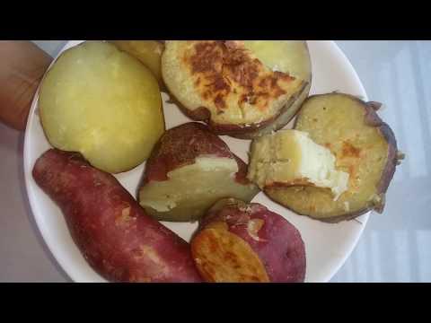 hướng dẫn luộc khoai lang ngon - cách luộc khoai lang để ăn giảm cân hiệu quả.