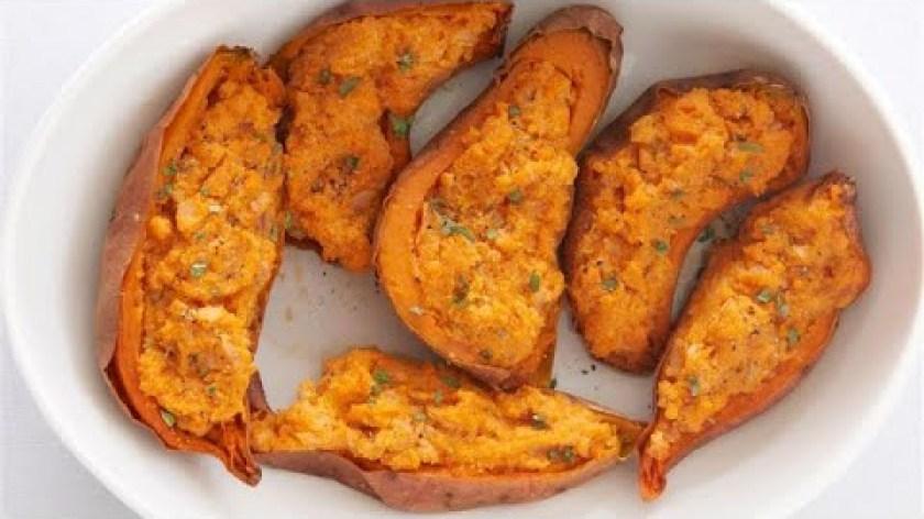 hướng dẫn nướng khoai lang bằng lò nướng - Cách làm Khoai lang nướng phô mai