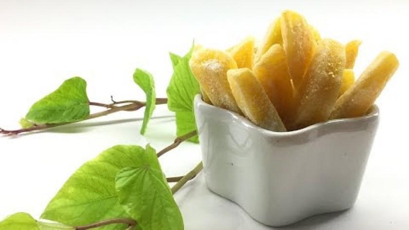 hướng dẫn làm mứt khoai lang - Cách làm mứt khoai lang giòn ngoài mềm trong - Món ngon cho mùa tết