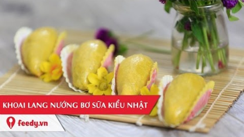 hướng dẫn làm khoai lang chiên - Hướng dẫn cách làm khoai lang nướng bơ sữa kiểu Nhật - Roasted Japanese Sweet Potatoes