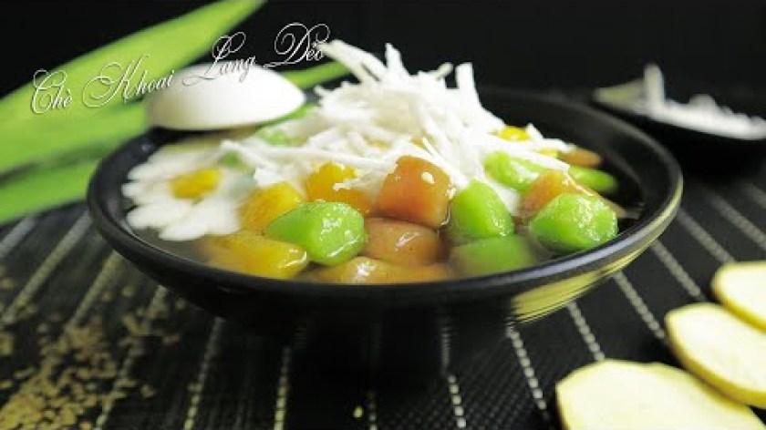 hướng dẫn làm bánh khoai lang - Hướng dẫn nấu Chè Khoai Lang Dẻo thơm ngon làm đơn giản