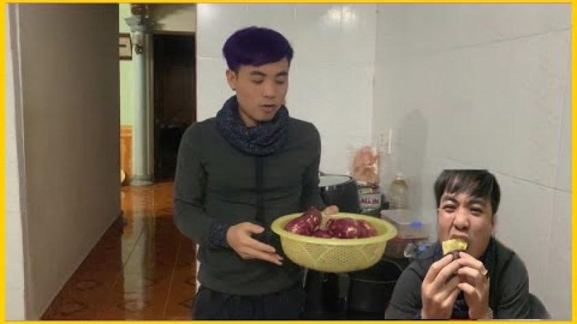 hướng dẫn nướng khoai lang bằng lò nướng - Lần Đầu Thử Nướng Khoai Lang bằng Lò Vi Sóng   Hậu Xăm   Try Baked Potatoes