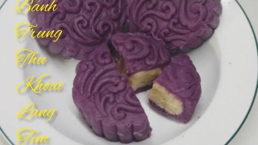 hướng dẫn làm bánh khoai lang - GamCooking at home #37 Hướng dẫn cách làm bánh Trung Thu bằng khoai Lang Tím