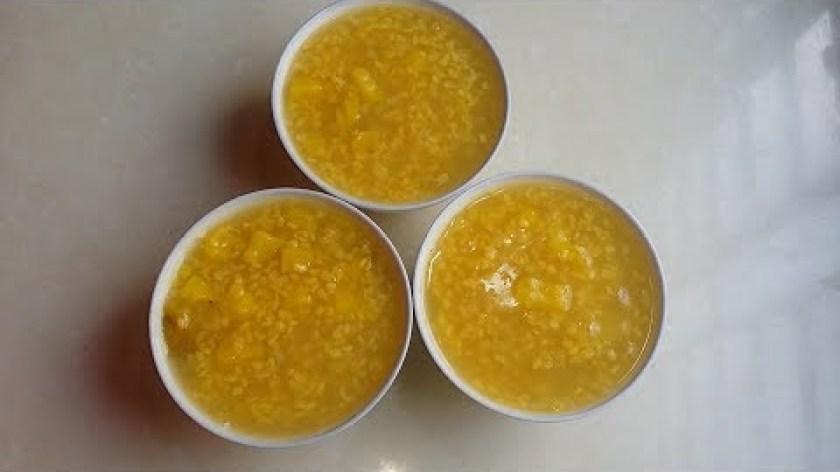 cách nấu khoai lang mật - cách nấu CHÈ KHOAI LANG ĐẬU XANH thanh mát.
