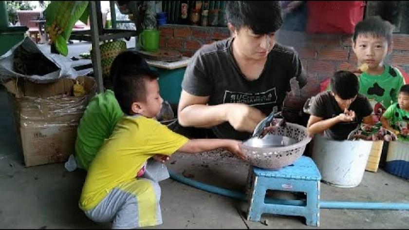 cách nấu khoai lang - nấu khoai lang ăn tại nhà