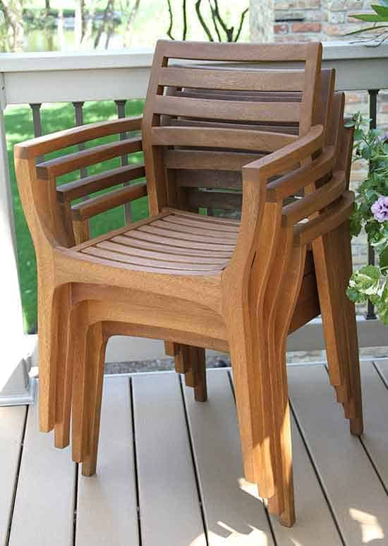 14 outdoor stackable chairs vurni