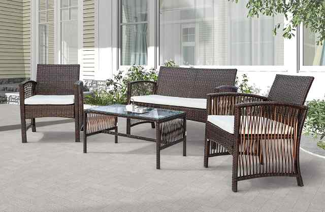 weather resistant patio furniture sets