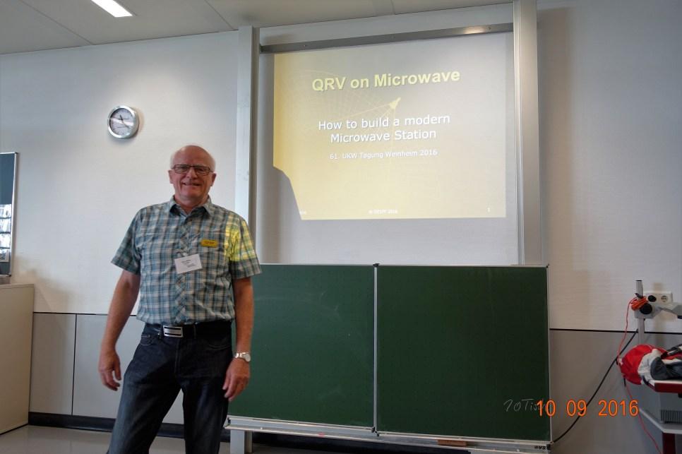 """Foredrag af OZ1FF""""How to build a modern uW station"""""""