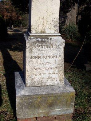Kinckle Grave Stone