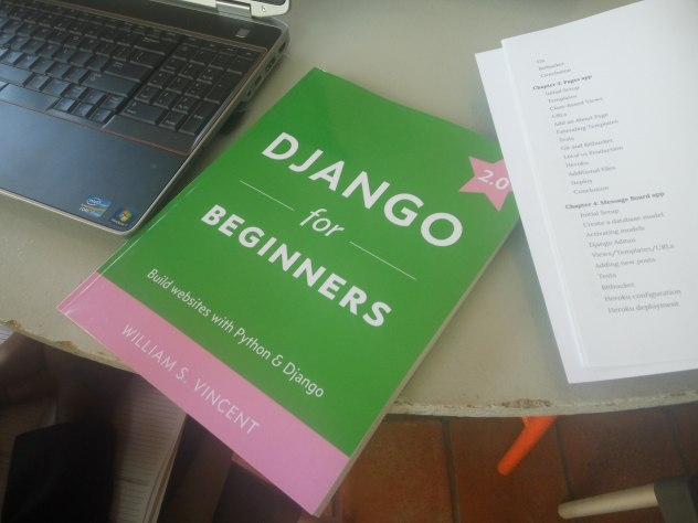 Django for beginners book