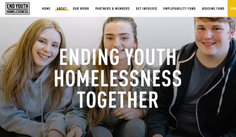 End Youth Homelessness page