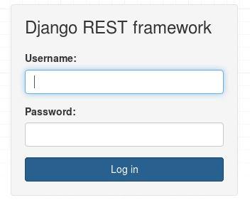 Django login form