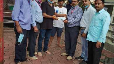 Photo of मंदिर को प्राप्त हुआ रुपये 01 लाख का दान