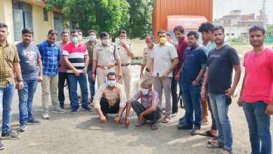 Photo of यूपी एसटीएफ और सुसनेर पुलिस की संयुक्त कार्रवाई में 2 कऱोड़ का गांजा जप्त