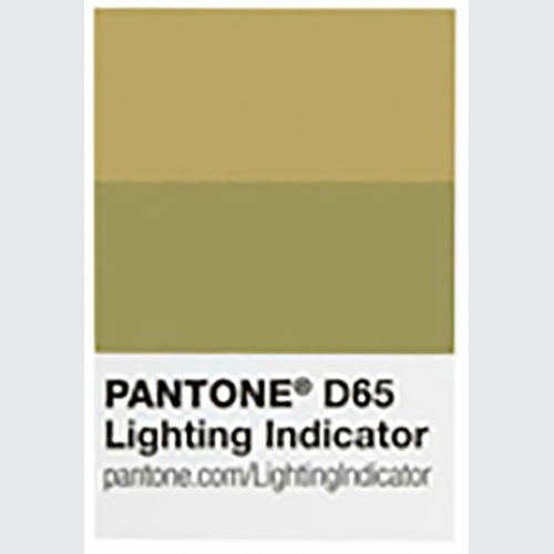 LIGHTING INDICATOR AUTOCOLLANT D65