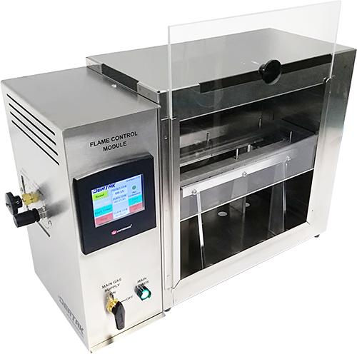 Deatak Testeur inflammabilite horizontale ISO 3795