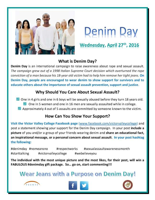 Denim Day flyer - 042716