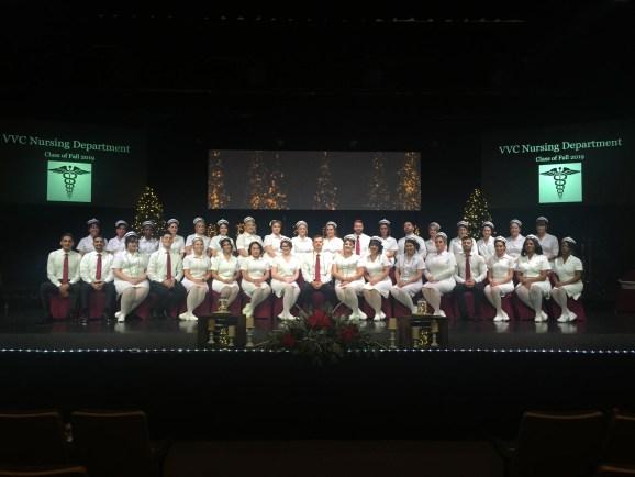 Nursing Class of Fall 2019