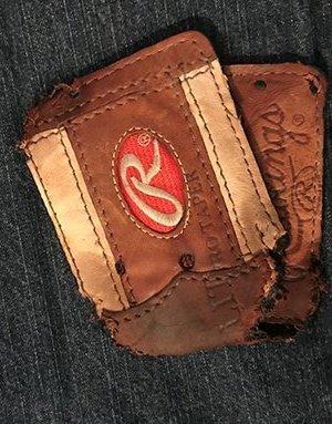 Chewed wallet
