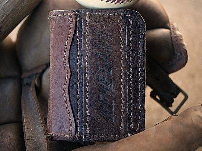 Credit Card Bifold Baseball Wallet
