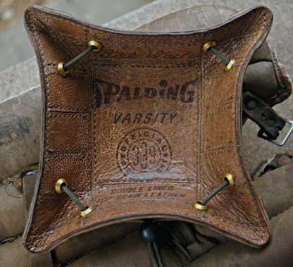 Valet Tray Made From Used Football Leather