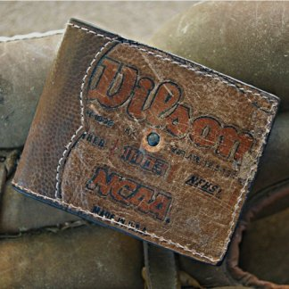 Football Leather Bifold Wallet