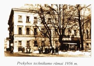 Prekybos technikumo rumai 1956