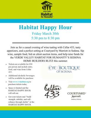 Habitat Happy Hour