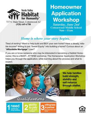 Homeowner Application Workshop