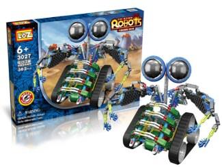 Konstruktor z motorjem Loz Robot poceni kocke za otroke