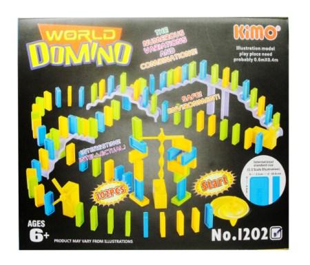 Igrača World of domino plastične kocke za otroke poceni