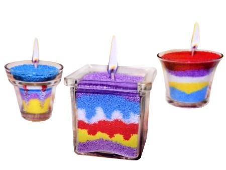 Kreativni set Ustvari sveče ustvarjalni za otroke