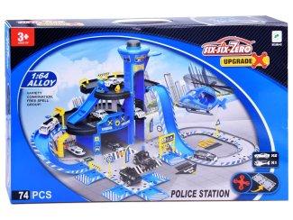Otroška garažna hiša Policijska postaja 74 delov