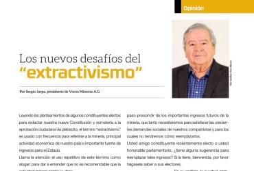 """Los nuevos desafíos del """"extractivismo"""""""