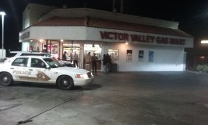 Man arrested in connection with Victor Valley Gas Mart robbery.