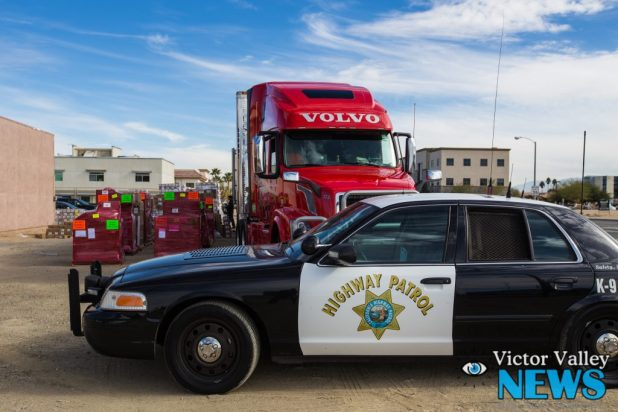 CHP made a massive drug bust resulting with a street value of $11 Million (Gabriel D. Espinoza, Victor Valley News)