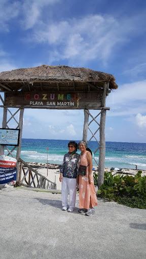 Playa  San Martin, Cozumel