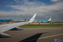 On Dutch soil... as evident by the bright blue KLM Boeings :)