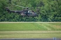 Slovenian Cougar departing