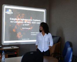 Eliade Lima at her PhD defense