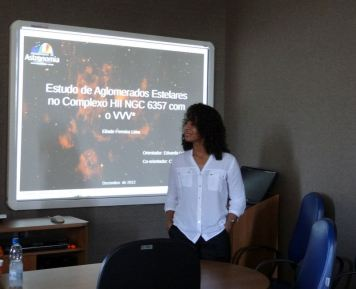 Eliade Lima at her PhD defense
