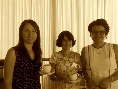 Tali Palma, Luciana Gramajo and Karla Peña-Ramírez