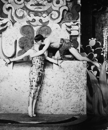 Stovitz and Delysia Performing Intimate Dance
