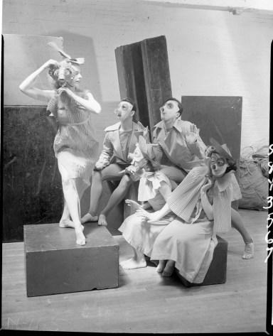 Charles Weidman, Limon, Harriette Ann Gray, and Beatrice Seckler
