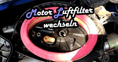 VW Lupo Motorluftfilter Luftfilter wechseln tauschen austauschen Sprit Benzin verbrauch senken